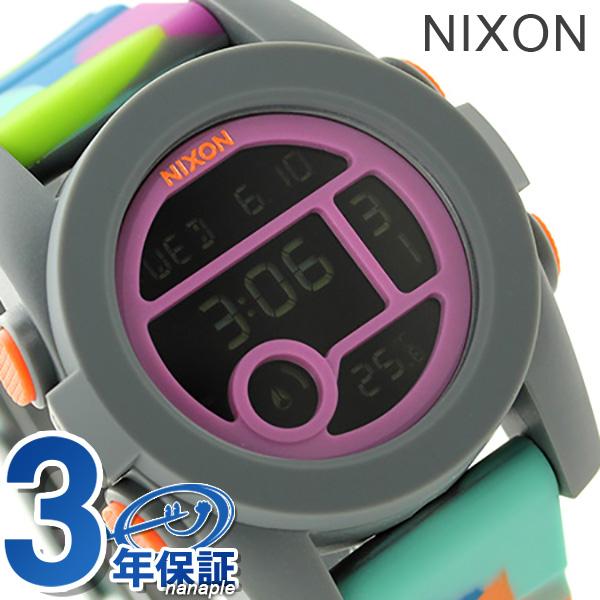 Nixon unit 40 quartz medium watch A4901988 NIXON A490 neoprene P19Jul15