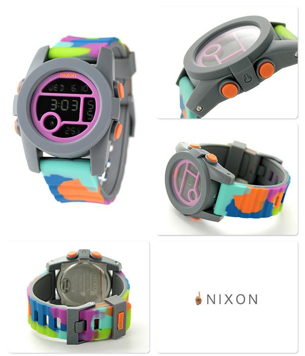 Nixon A4901988 nixon Nixon unit 40 medium size watch neoprene