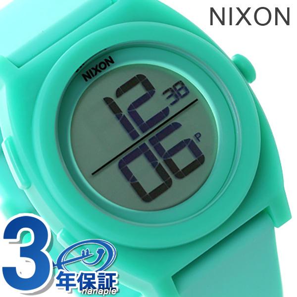 ニクソン 腕時計 nixon タイムテラー A417302 デジ クオーツ ライト ブルー 時計【あす楽対応】