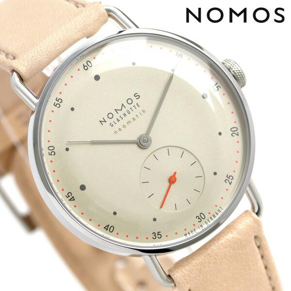 ノモス NOMOS ドイツ製 自動巻き 1107 メトロ ネオマティック 35mm レディース 腕時計 MT130014CH2 シャンパーニュ 時計【あす楽対応】