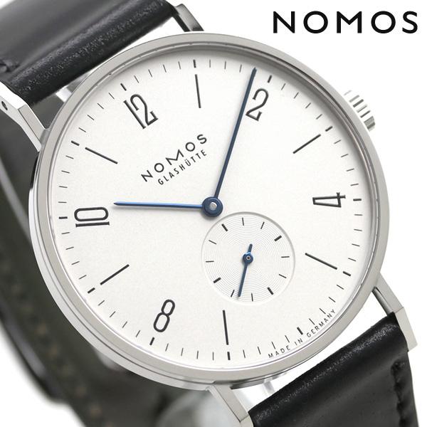 ノモス NOMOS ドイツ製 手巻き 164 タンジェント 38 メンズ 腕時計 TN1AT1W238 シルバー×ブラック 時計【あす楽対応】