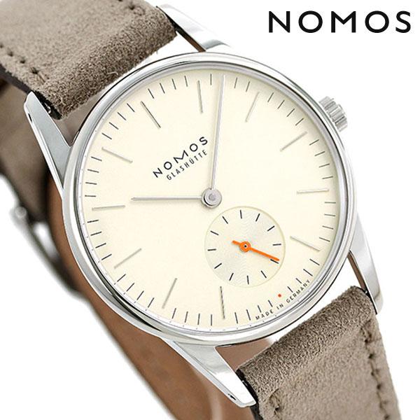 ノモス NOMOS ドイツ製 手巻き 328 オリオン シャンパーニュ 33mm レディース 腕時計 OR1A3CH233 シャンパーニュ×ベージュ 時計【あす楽対応】