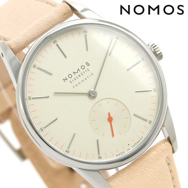 ノモス NOMOS ドイツ製 自動巻き 393 オリオン ネオマティック 36mm レディース 腕時計 OR130013CH2 シャンパーニュ 時計【あす楽対応】