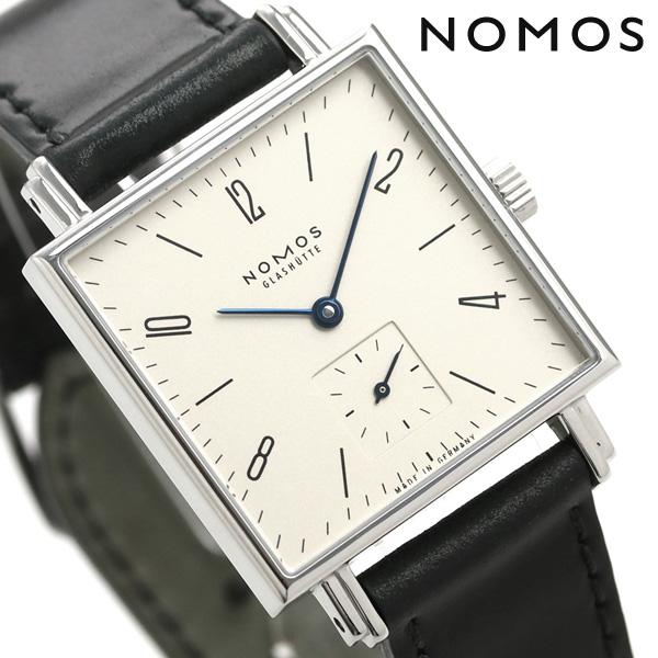 ノモス NOMOS ドイツ製 手巻き 408 テトラ 30mm レディース 腕時計 TT1A1W1L シルバー×ブラック 時計【あす楽対応】