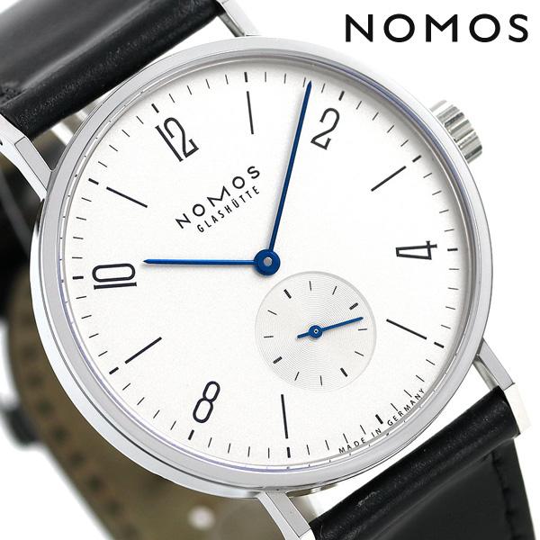 ノモス NOMOS ドイツ製 自動巻き 601 タンゴマット 38.5mm メンズ 腕時計 TN1E1W2 シルバー×ブラック 時計【あす楽対応】