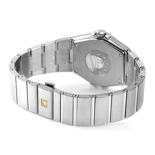 オメガ OMEGA メンズ 腕時計 コンステレーション ローマ数字 ブラック シルバー 123 10 35 60 01 001 新品 時計kZPXiu