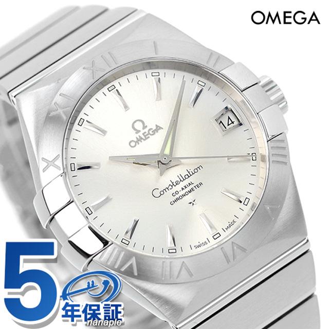 オメガ 腕時計 自動巻き コンステレーション クロノメーター 38MM メンズ シルバー OMEGA 123.10.38.21.02.001 新品 時計