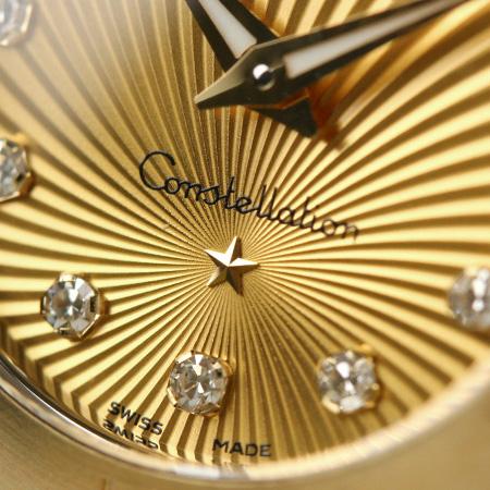 omegakonsutereshon 24MM女士手表123.20.24.60.58.001 OMEGA香巴纽×黄色黄金
