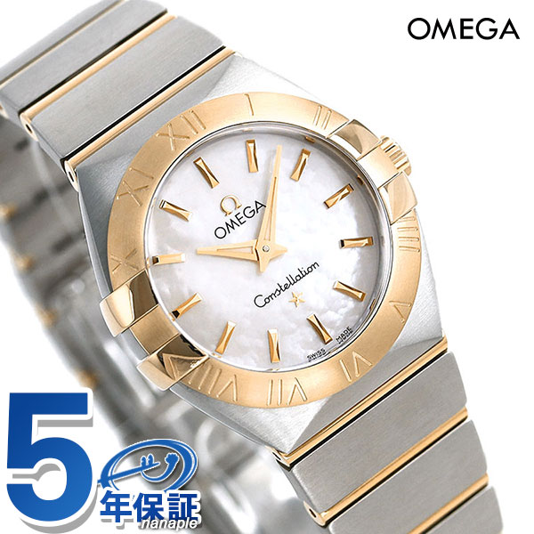 123.20.27.60.05.002 OMEGA watch K18 white shell X yellow gold new article  made