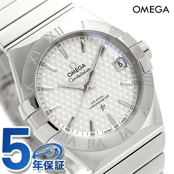 オメガ OMEGA コンステレーション 38mm 自動巻き 123.10.38.21.02.003 メンズ 腕時計 シルバー 新品 時計【あす楽対応】