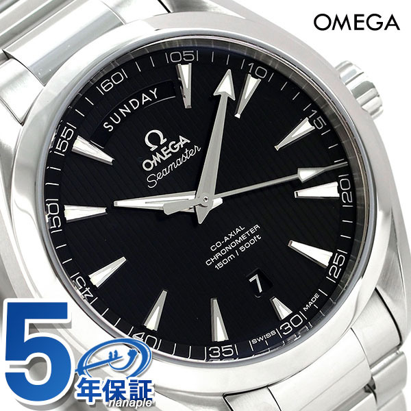 オメガ シーマスター アクアテラ 150M 自動巻き ブラック 231.10.42.22.01.001 OMEGA メンズ 腕時計 時計【あす楽対応】