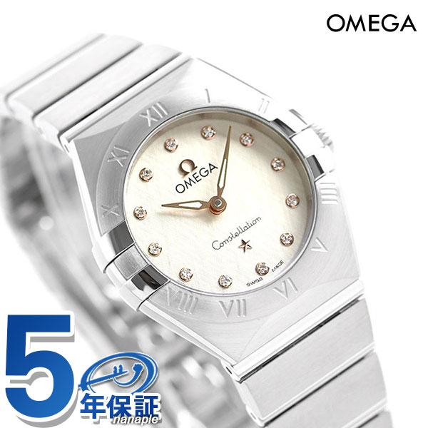 オメガ コンステレーション クオーツ マンハッタン 25mm レディース 腕時計 131.10.25.60.52.001 OMEGA 時計