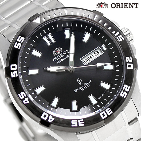Orient reverse overseas model Japan-made self-winding watch SEM7C007BC ORIENT black