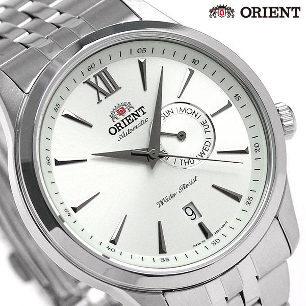 东方返销进口海外型号自动卷人手表SES00003W0 ORIENT银子