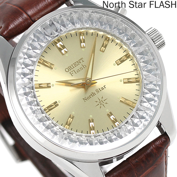 オリエント 逆輸入 海外モデル ノーススター 復刻モデル URL002DL ORIENT 腕時計 ゴールド 時計