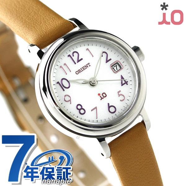 オリエント 腕時計 ORIENT イオ ナチュラル&プレーン iO WI0051WG ソーラー 時計【あす楽対応】
