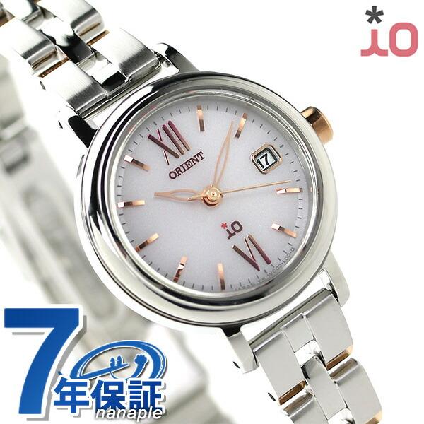 オリエント 腕時計 ORIENT イオ ナチュラル&プレーン iO WI0061WG ソーラー 時計
