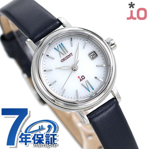 店内ポイント最大43倍!16日1時59分まで! オリエント 腕時計 ORIENT イオ ナチュラル&プレーン iO WI0081WG ソーラー 時計【あす楽対応】