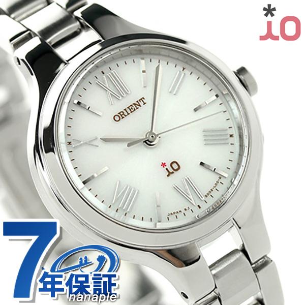 オリエント 腕時計 レディース ORIENT イオ ナチュラル&プレーン iO WI0111SD 電波ソーラー 時計【あす楽対応】
