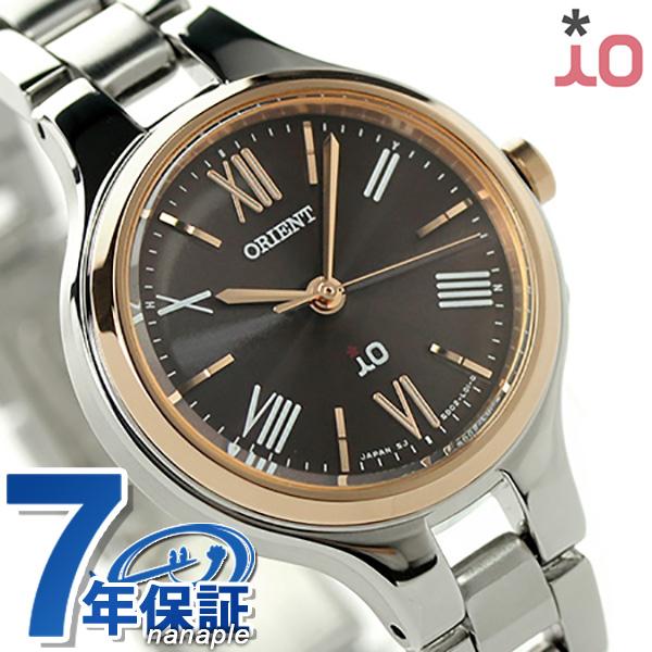 オリエント 腕時計 レディース ORIENT イオ ナチュラル&プレーン iO WI0131SD 電波ソーラー 時計【あす楽対応】