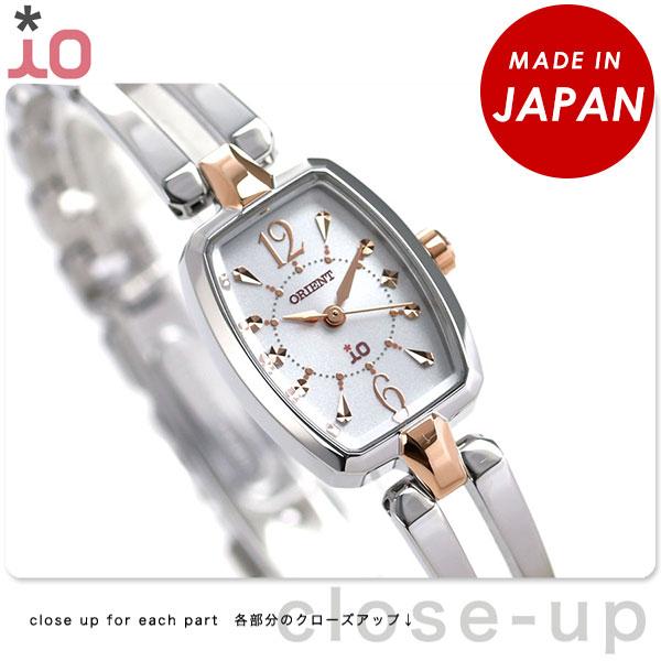 オリエント 腕時計 レディース ORIENT イオ WI0151WD ソーラー 時計