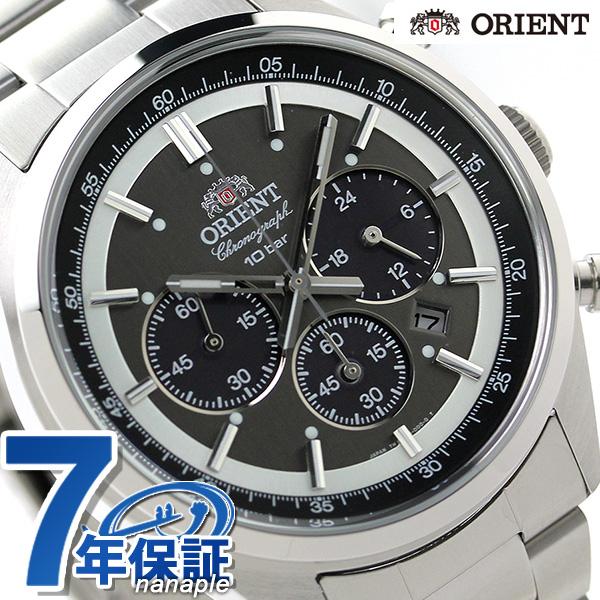 店内ポイント最大43倍!16日1時59分まで! オリエント 腕時計 ORIENT ネオセブンティーズ WV0011TX ソーラー クロノグラフ 時計