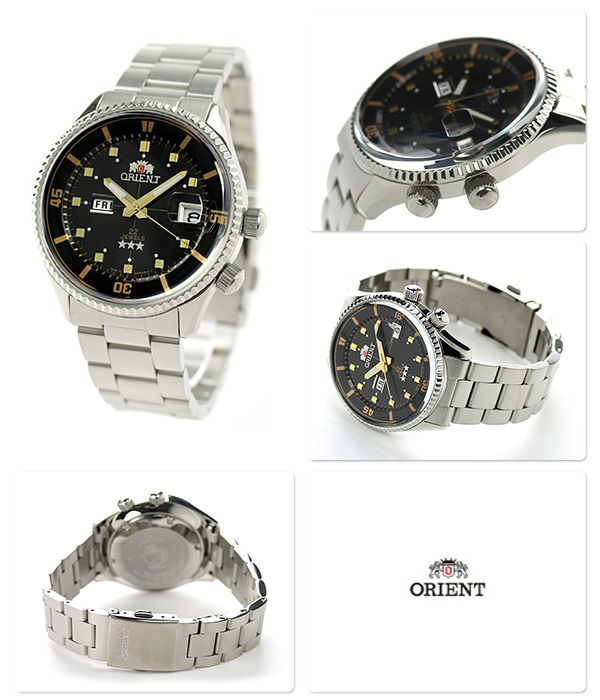 Orient King master automatic day-Date Watch WV0021AA ORIENT mens watch black