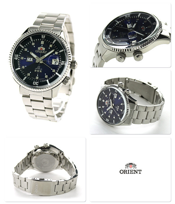 Orient King master automatic day-Date Watch WV0031AA ORIENT mens Watch Blue