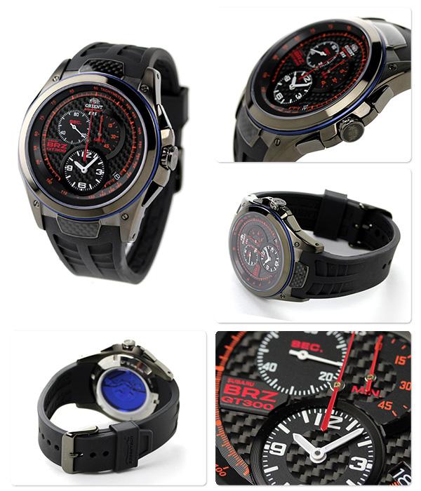 东方ORIENT手表速度技术ERS×BRZ世界限定型号WV0031KT计时仪