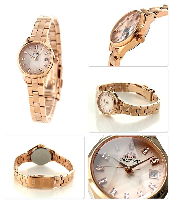東方新七十明星cut女士WV0191SZ ORIENT手錶粉紅