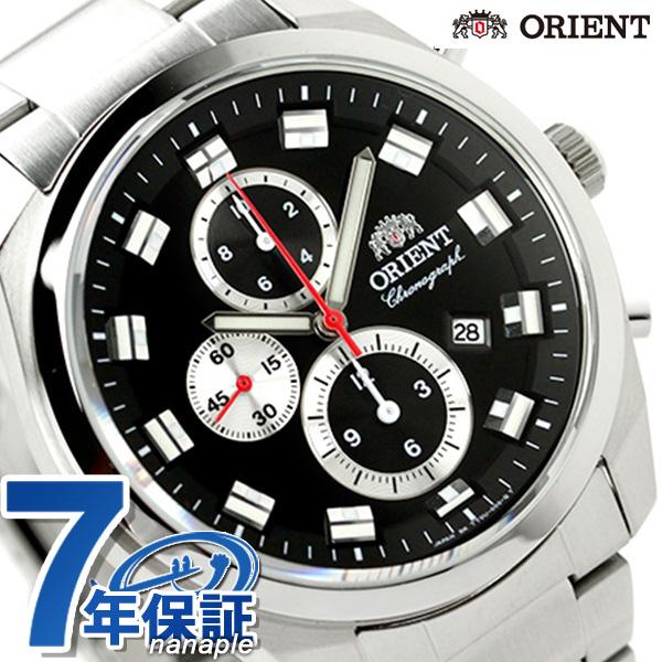 オリエント 腕時計 メンズ ORIENT ネオセブンティーズ クロノグラフ ビッグケース WV0461TT 時計