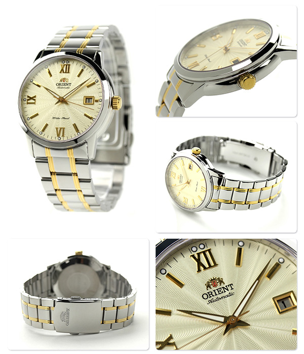 Orient automatic world stage collection mens WV0941ER ORIENT watch champagne P19Jul15