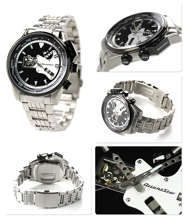 東方ORIENT手錶東方明星重新流行未來吉他型號OrientStar公開心人自動卷WZ0201DA