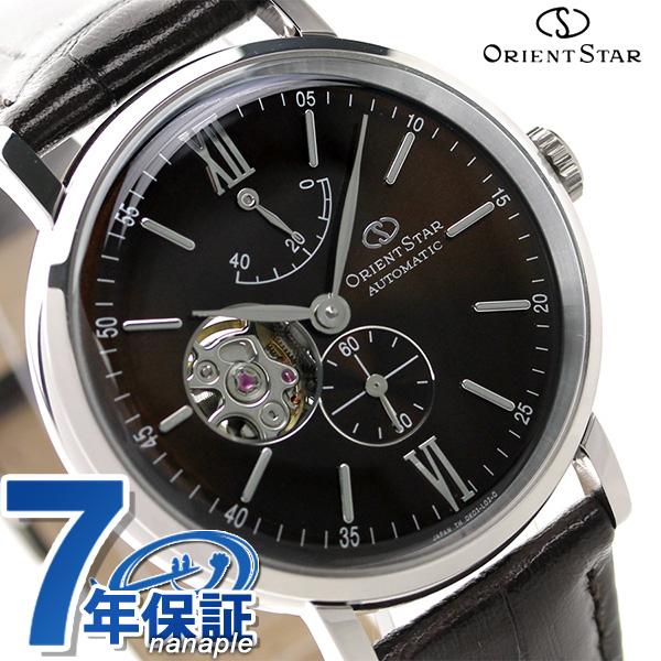 東方明星古典骨架自動卷手錶WZ0301DK Orient Star棕色×棕色