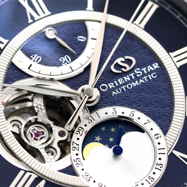 东方明星机械月亮相46系统F7人RK-AM0002L手表Orient Star