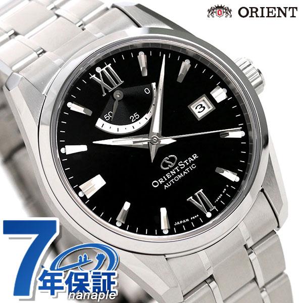 オリエントスター 腕時計 メンズ ORIENT STAR 日本製 自動巻き コンテンポラリー 38.5mm RK-AU0004B ブラック 時計