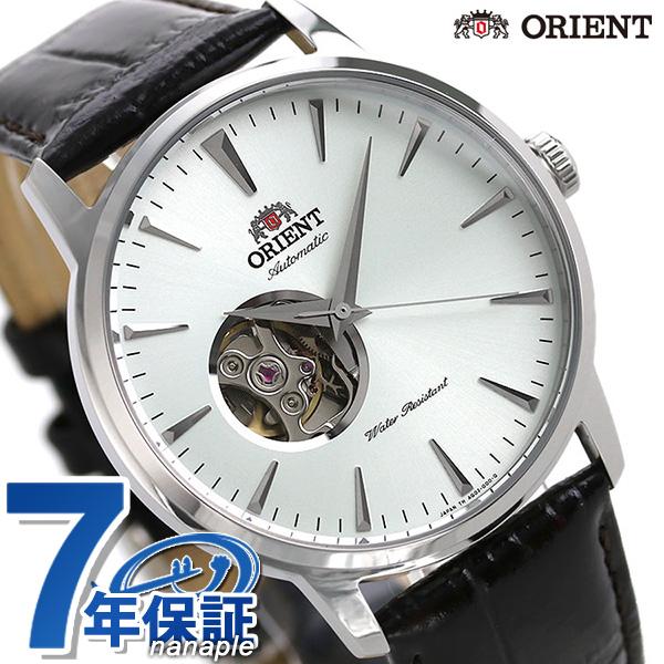 オリエント 腕時計 ORIENT スタンダード セミスケルトン 41mm 自動巻き RN-AG0014S 時計