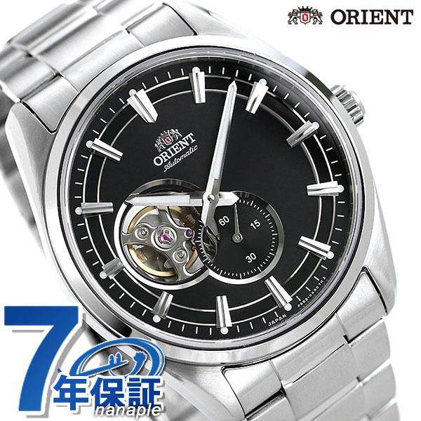 オリエント 腕時計 ORIENT コンテンポラリー セミスケルトン 自動巻き RN-AR0001B メンズ ブラック 時計【あす楽対応】