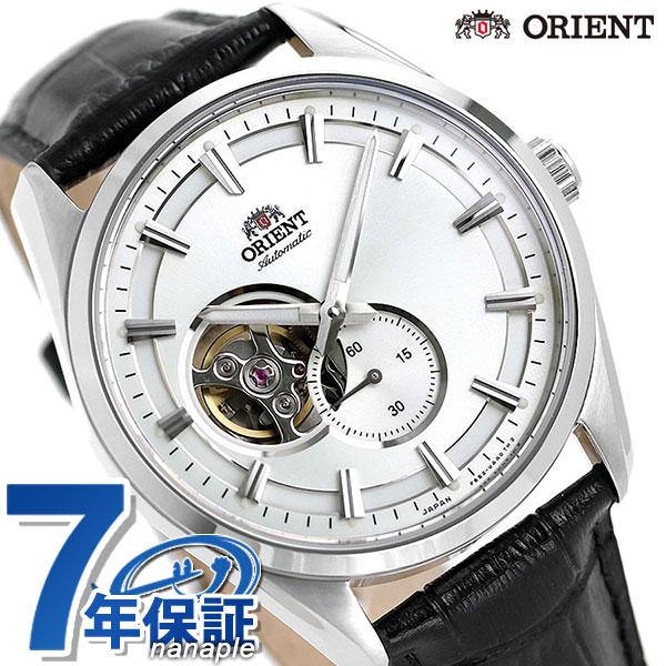 オリエント 腕時計 ORIENT コンテンポラリー セミスケルトン 自動巻き RN-AR0003S メンズ 革ベルト 時計