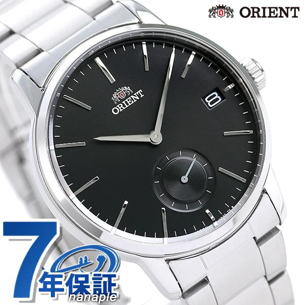 店内ポイント最大43倍!16日1時59分まで! オリエント 腕時計 スモールセコンド 日本製 メンズ 腕時計 RN-SP0001B ORIENT ブラック【あす楽対応】