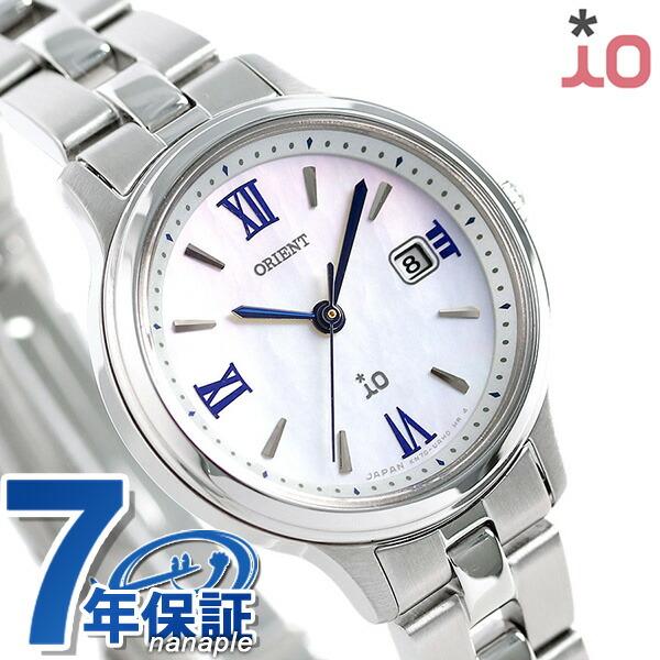 オリエント 腕時計 ORIENT イオ ナチュラル&プレーン ソーラー RN-WG0007A レディース ホワイトシェル 時計