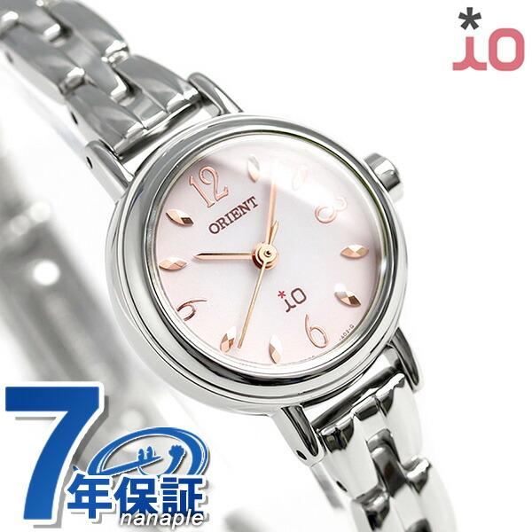 オリエント 腕時計 レディース ORIENT イオ フラワー ソーラー WI0431WD ピンクグラデーション 時計