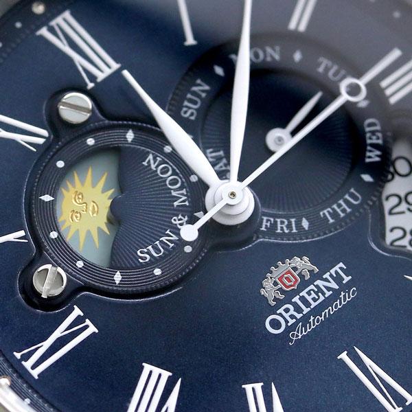 Orient world stage collection Sun & Moon WV0391ET ORIENT watch Navy