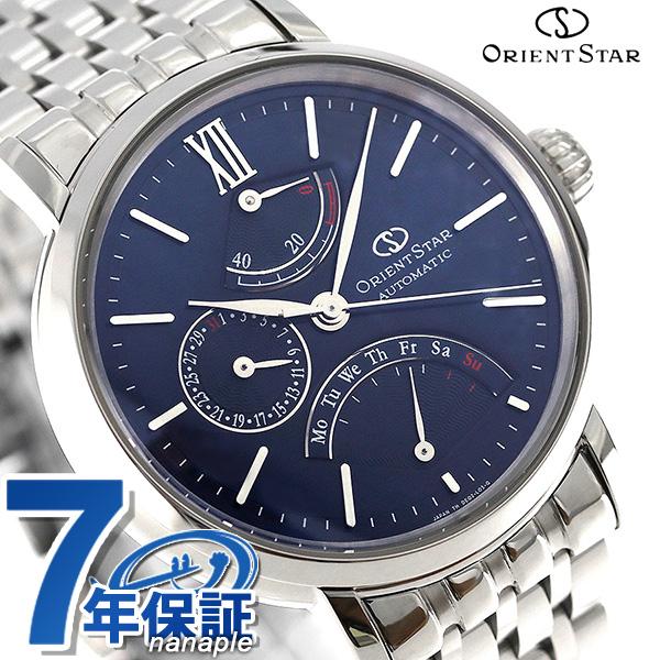 オリエント オリエントスター 腕時計 OrientStar クラシック レトログラード 自動巻き WZ0091DE 時計