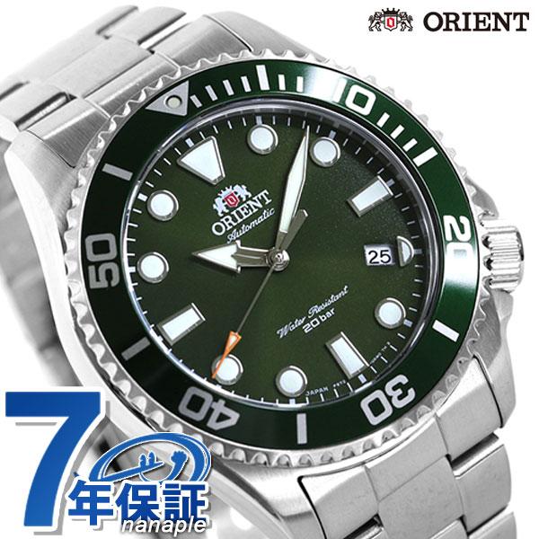 オリエント スポーツ ダイバー ダイバーズウォッチ 自動巻き メンズ 腕時計 RN-AC0K02E ORIENT 時計 グリーン