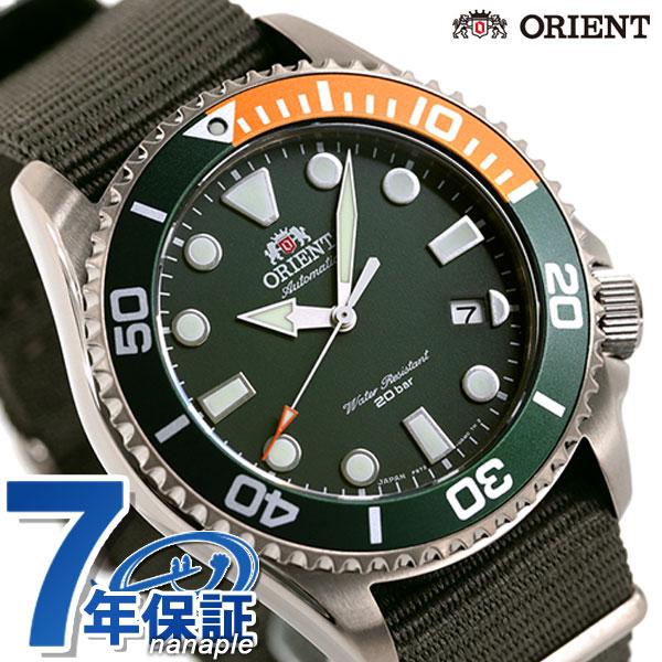 オリエント スポーツ ダイバー ダイバーズウォッチ 自動巻き メンズ 腕時計 RN-AC0K04E ORIENT 時計 グリーン