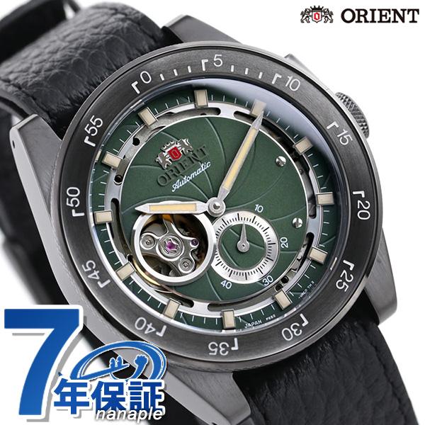 オリエント リバイバル レトロフューチャー 70周年記念 カメラ復刻 自動巻き メンズ 腕時計 RN-AR0202E ORIENT 時計 グリーン×ブラック【あす楽対応】