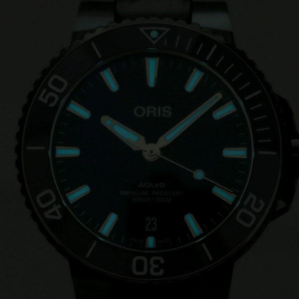 オリス ORIS アクイス デイト 39mm メンズ 腕時計 01 733 7732 4135 07 8 21 05PEB 自動巻き 時計 ブルー 新品wXliPkTOZu