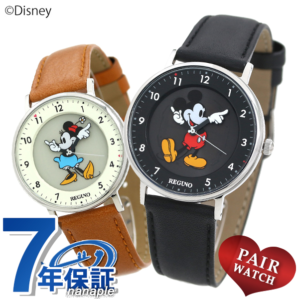 ペアウォッチ シチズン レグノ Disneyコレクション ミッキーマウス ミニーマウス CITIZEN 腕時計 時計