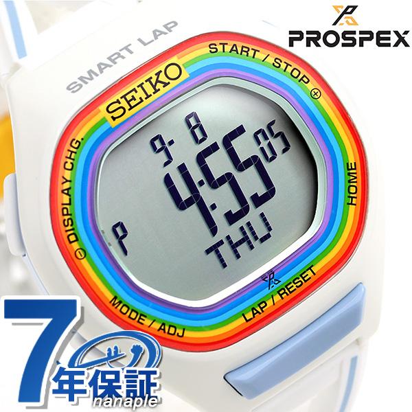 セイコー スーパーランナーズ 大阪マラソン 2016 限定モデル SBEH011 SEIKO 腕時計 ホワイト 時計